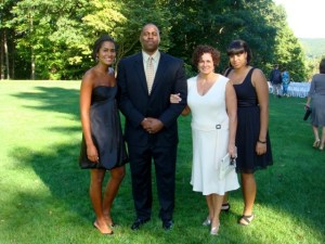 Kevin Evans family