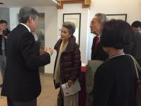 King Wan meets with Honorary PCHC Advisor and retired senator Dr. Vivienne Poy and her husband Dr. Neville Poy