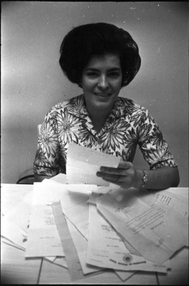 Photo by John Franke, Nov. 1968. Clara Thomas Archives & Special Collections, York University Libraries, Toronto Telegram fonds, F0433, ASC34589.