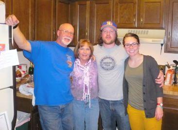 (Fred, Lou Ann, Erick, and Brianna)
