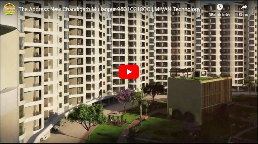 the address mullanpur flats specifications