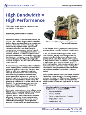 Preview of punch press application note