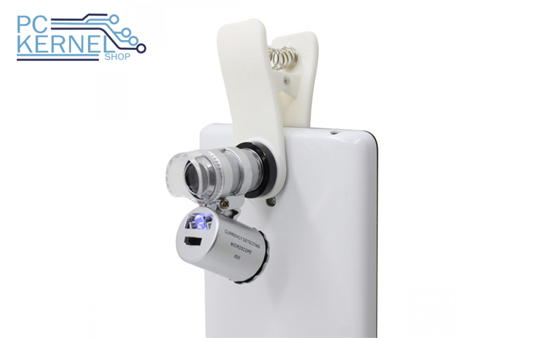 Lente Zoom Microscopio Celular
