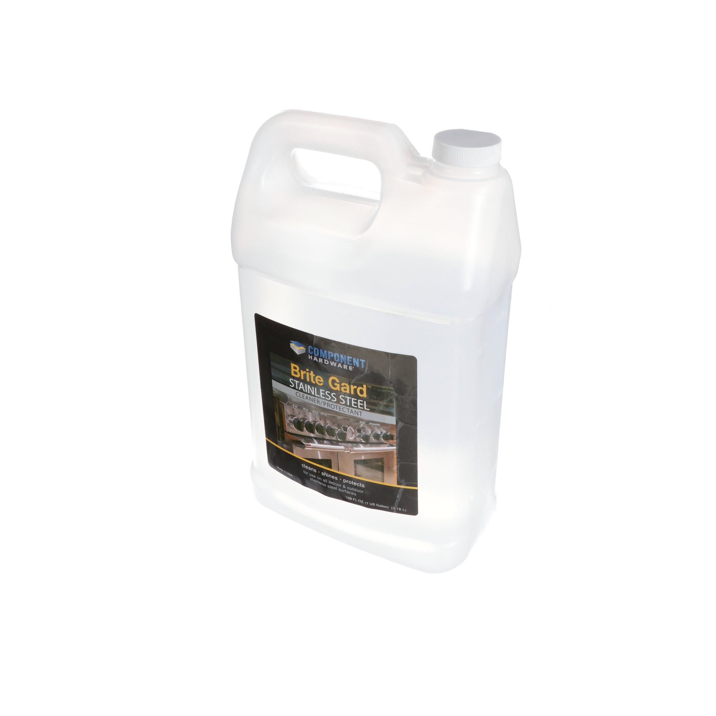 1 gallon brite gard stainless steel cleaner protectant refill bottle each