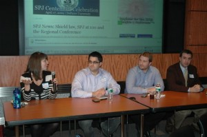 From left: Anne Machalinski, Anthony Cusumano, Henry Powderly and Dominick Miserandino