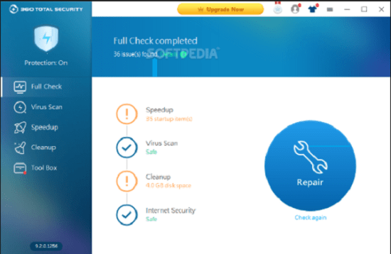 360 Total Security 10.8.0.1269 Crack With License Key 2021 Free Download