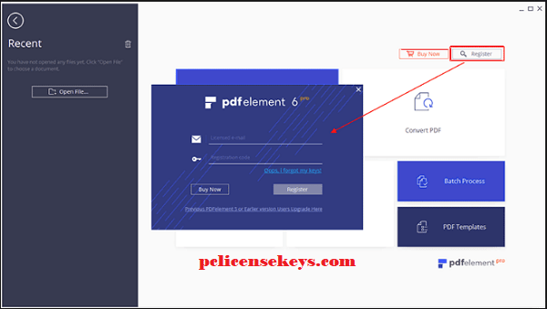 Wondershare PDFelement Pro 7.6.8.5031 License Key [Crack] 2020 Free