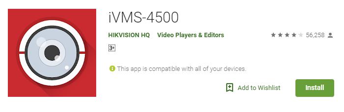 iVMS-4500 Windows PC