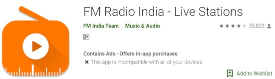 FM Radio India on Windows