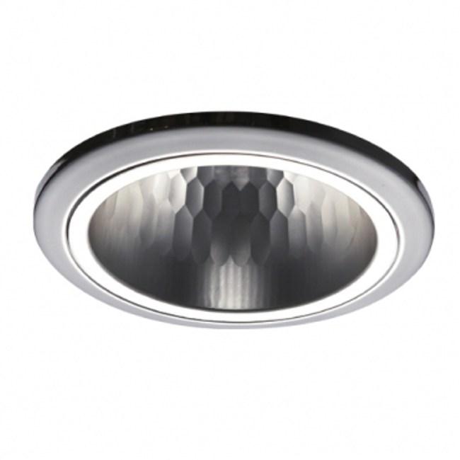 12CM開放型E27直插崁燈鍍鉻 燈泡燈管 特力家購物網