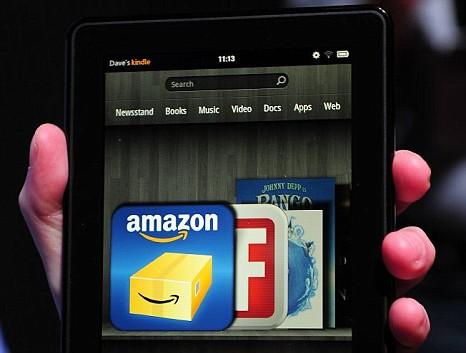 Kindle Fire January 2012 UK Release