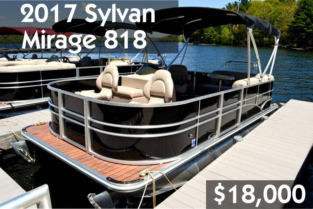 2017 Sylvan Mirage 818