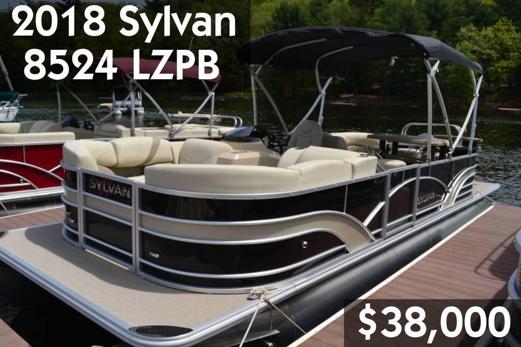 2018 Sylvan 8524 LZPB
