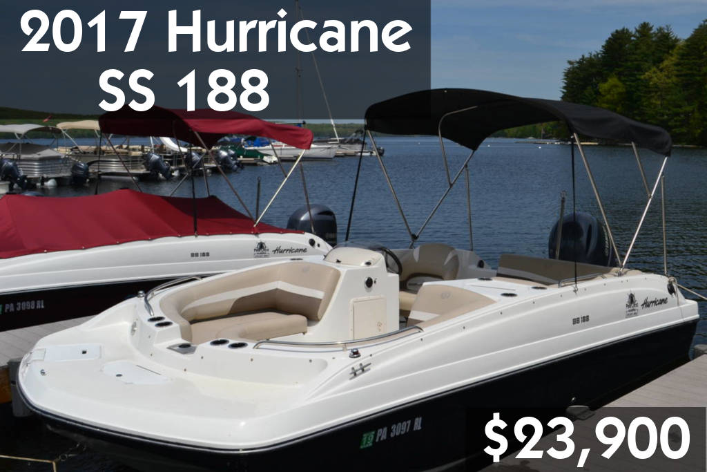 2017 Hurricane SS 188 $23,900