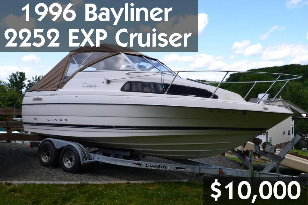 1996 Bayliner 2252 EXP Cruiser