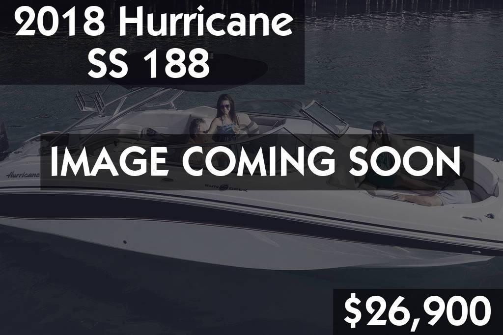 2018 Hurricane SS 188 $26,900