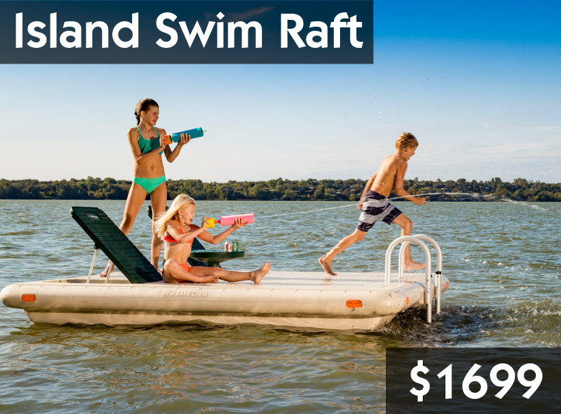Wave Armor Island Swim Raft