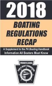 PA Fish & Boat Boating Regulations Recap