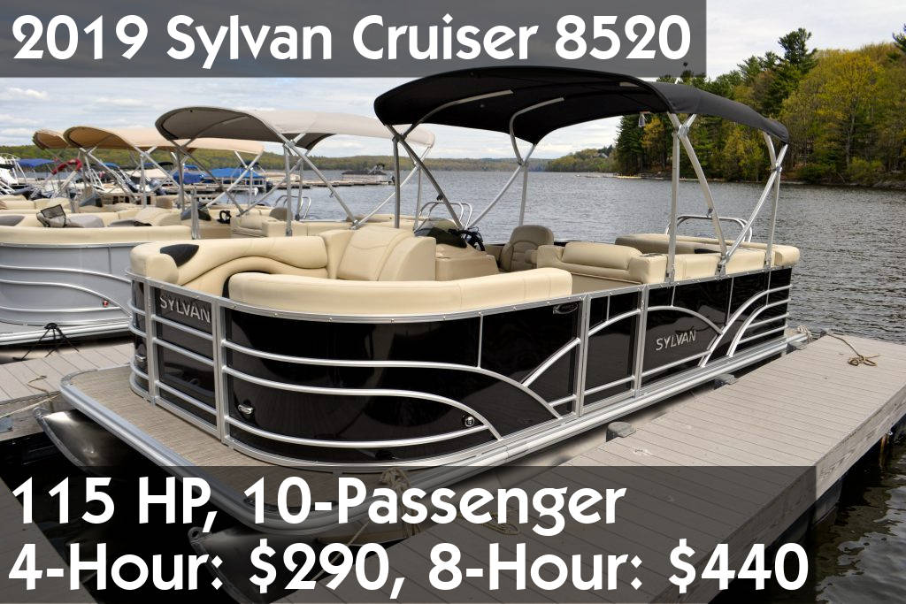 2019 Sylvan Cruiser 8520 Pontoon
