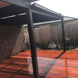 decking and pergolas