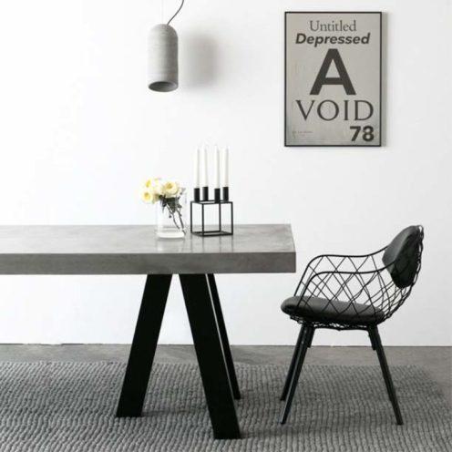 Concrete trend table