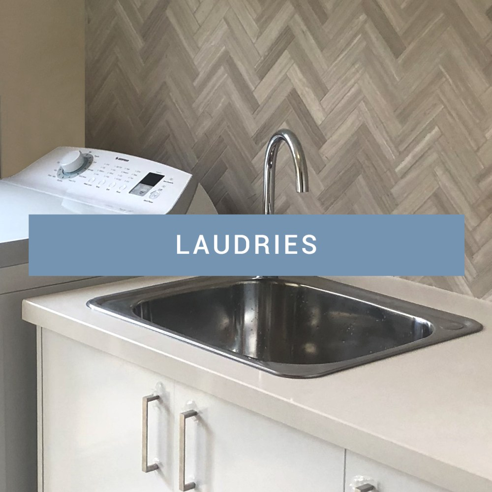 Laundry renovations - projects gallery