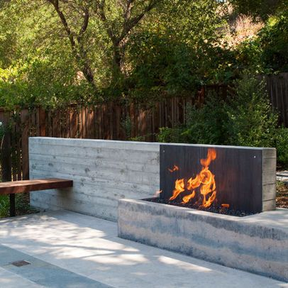 Architectural Firepit