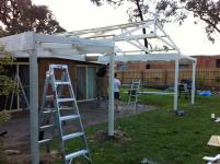 Recycled Timber Pergola Ferntree Gully, Melbourne