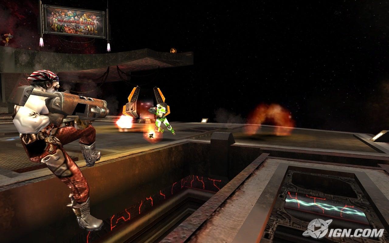 Quake Live Screenshot