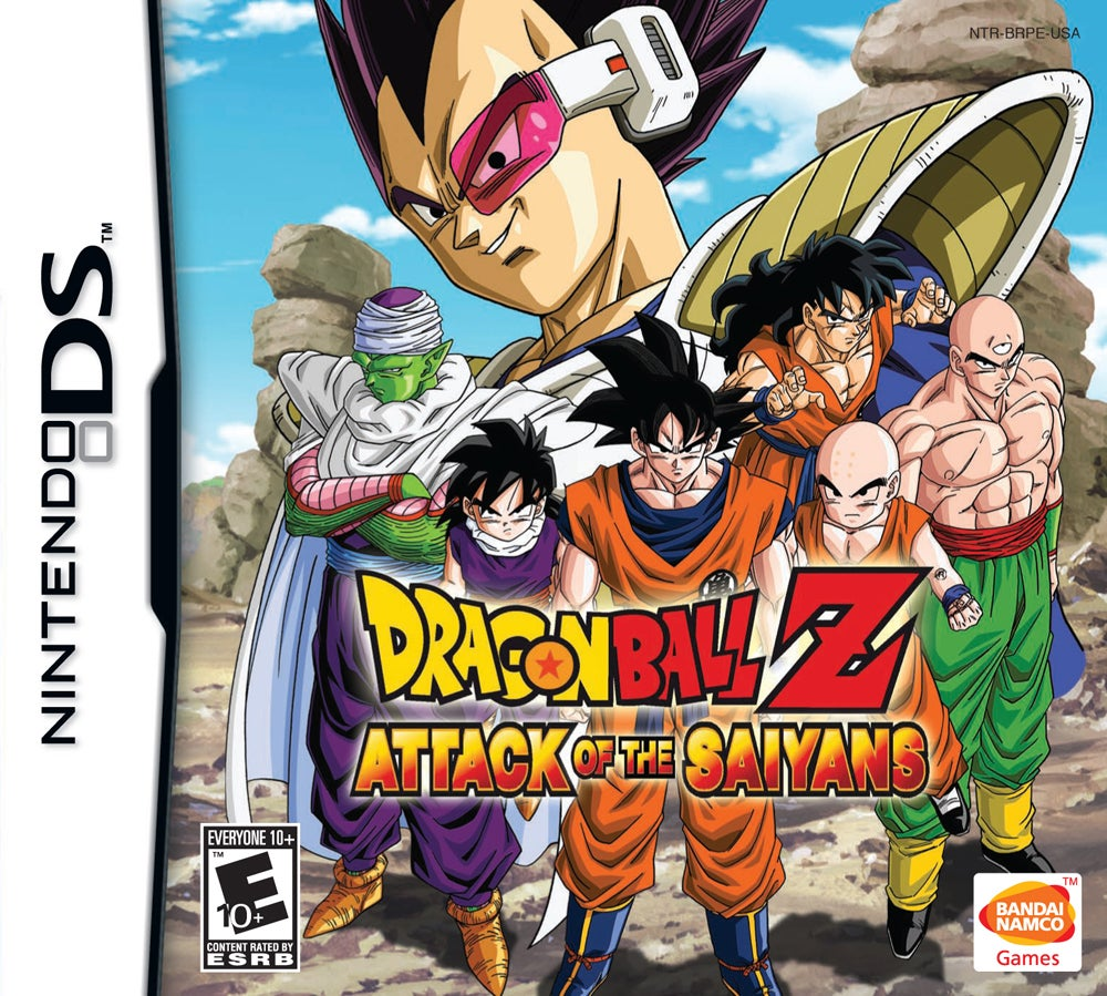 Dragon Ball Z Attack Of The Saiyans Review IGN