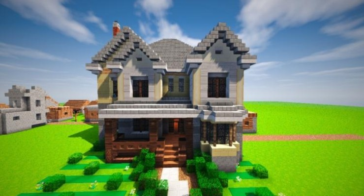 Suburban House Map For Minecraft 114 1132 PC Java Mods Amp Addons