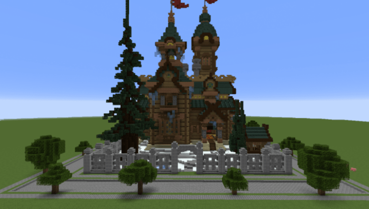 Russian KGB Mansion Map For Minecraft 114 1132 PC