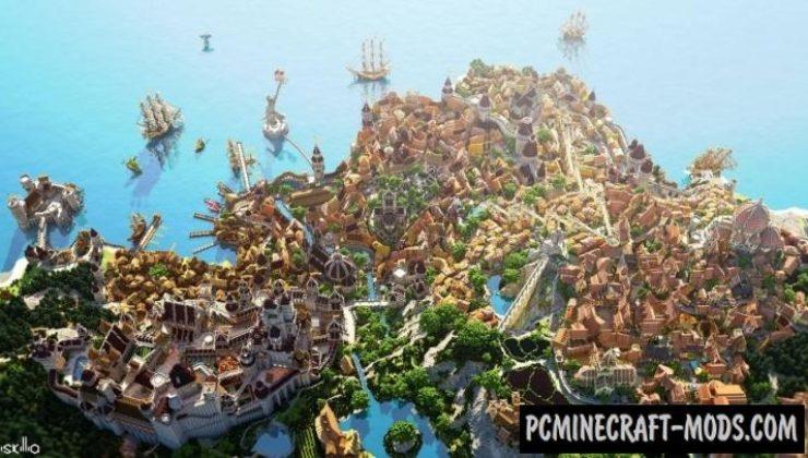 Novigrad Map For Minecraft 114 1132 PC Java Mods
