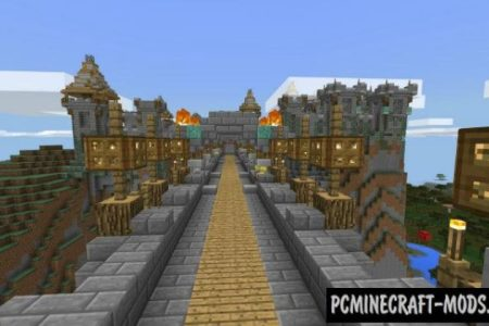 minecraft medieval kingdom map » Path Decorations Pictures   Full ...
