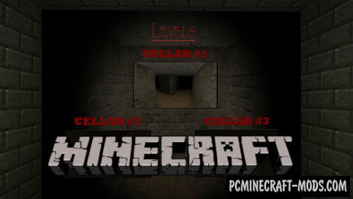 Slendrina The Cellar LvL 1 Minecraft PE Map 150 140 1213 PC Java Mods Amp Addons