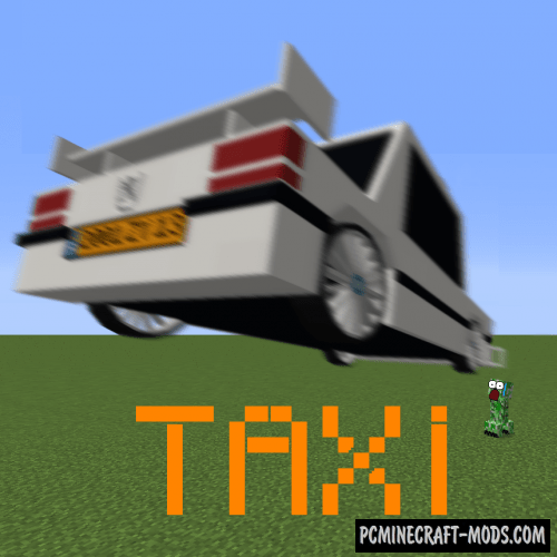 Taxi Mod For Minecraft 1122 PC Java Mods