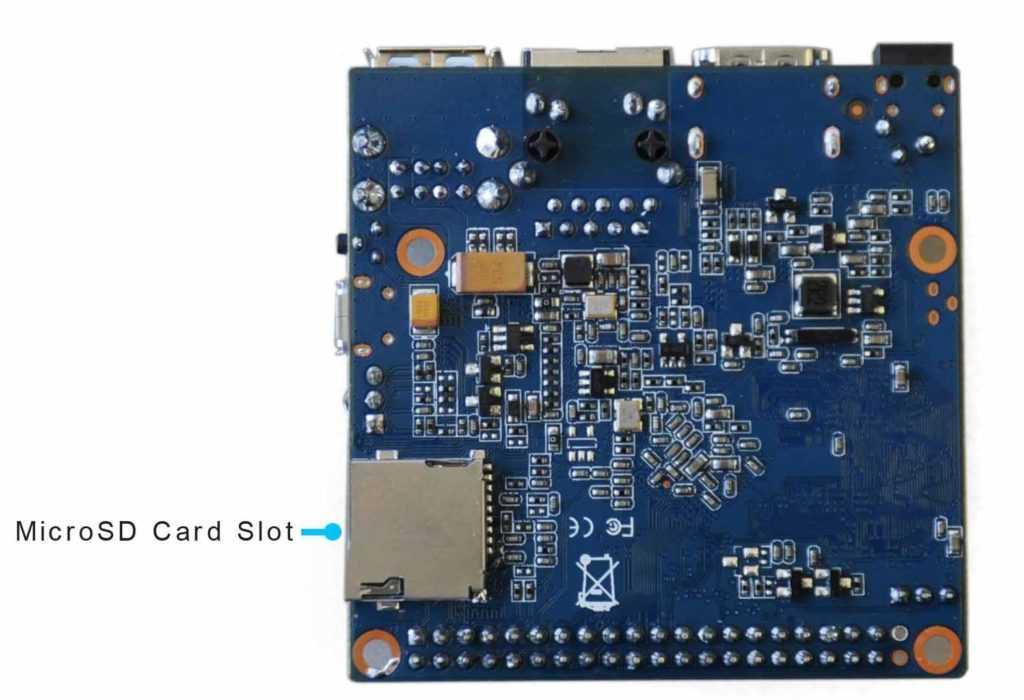 Banana Pi BPI-M2+ H3 STD четырехъядерный мини-одноплатный компьютер с SoC Allwinner H3