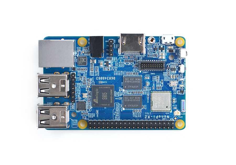 Nanopi К2 основан на S905, воспроизводит 4К, встроенный Wi-Fi с Bluetooth, 1Гбит Ethernet