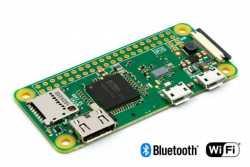 Raspberry Pi Zero W- супермаленький компьютер семейства малиновых с Wi-Fi и BT