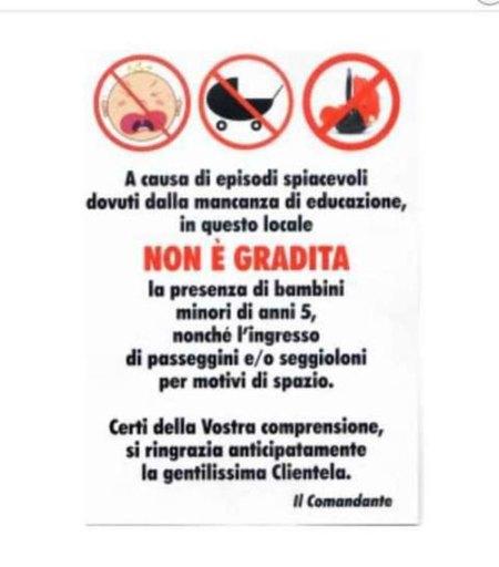 Rome-kids-ban
