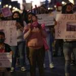 Marcha feminista por mujeres víctimas de feminicidio