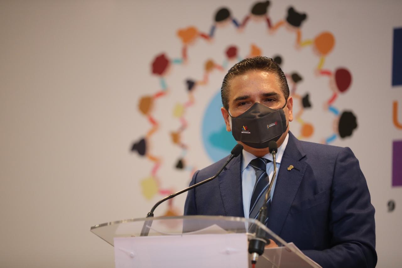 Michoacán da pasos contundentes en la lucha contra la corrupción: Gobernador