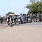 Policía militar Cierran el paso a Magaña de la Mora