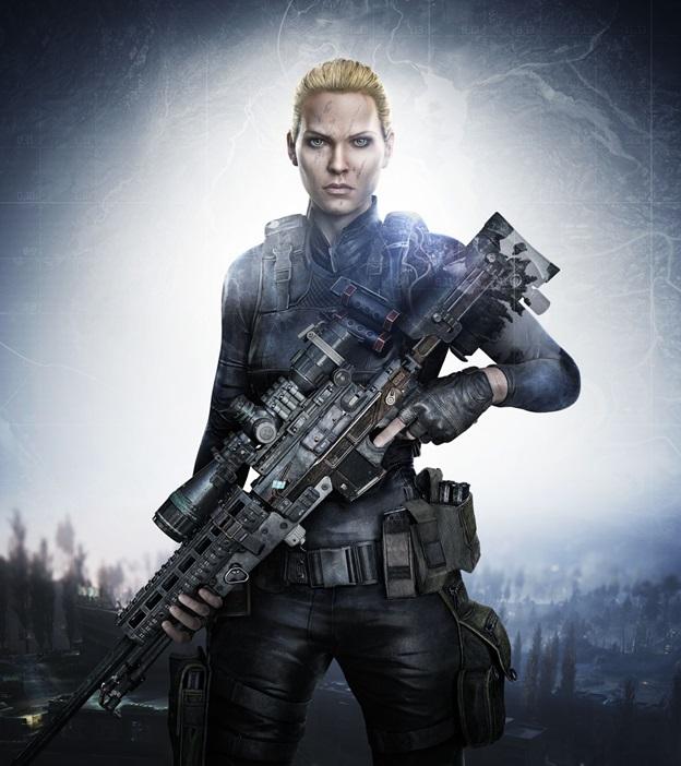 Sniper:GhostWarrior LydiaJorjadze