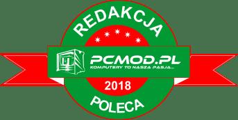PcMod.pl - nagroda, redakcja poleca