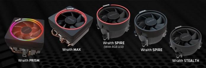 Wentylatory dla AMD Ryzen 2000