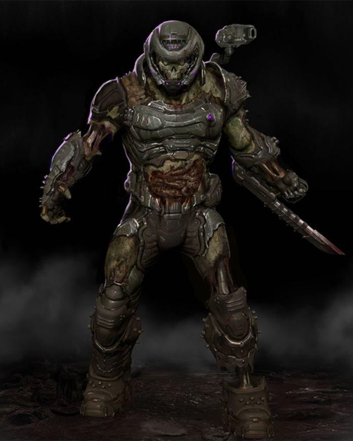 Doom Eternal - zombie slayer