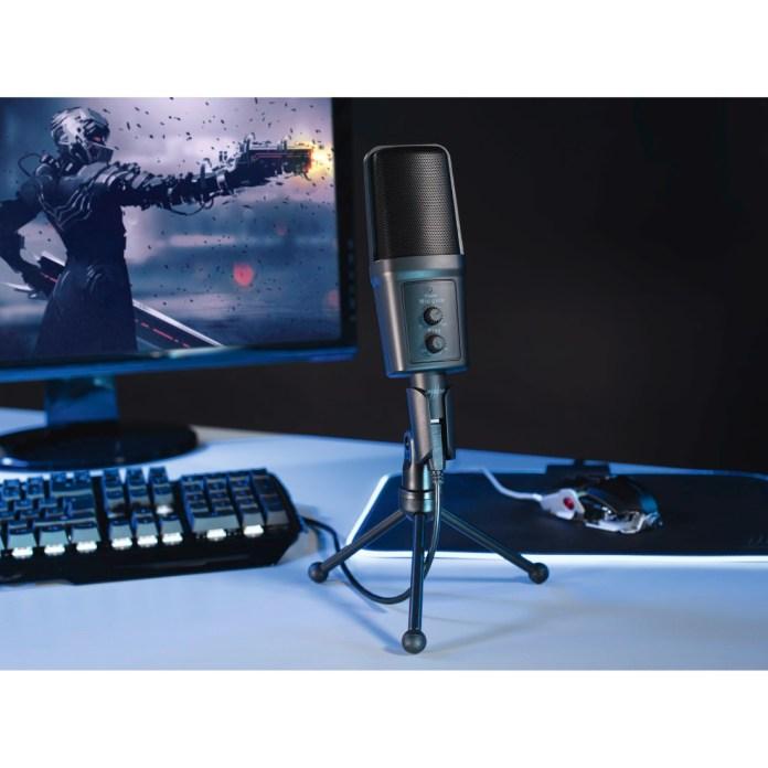 uRage Revolution - gamingowy mikrofon do streamowania 1