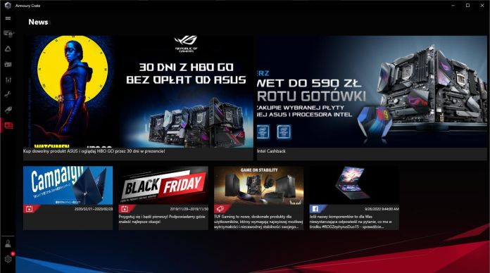 ASUS ROG Strix B550-I Gaming - Armoury Crate - News