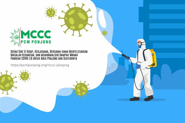MCCC Ponjong Tanggap Darurat dari Umat untuk Umat